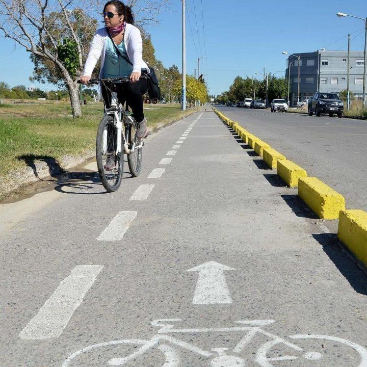 Bicicleras públicas bicisendas Venado Tuerto