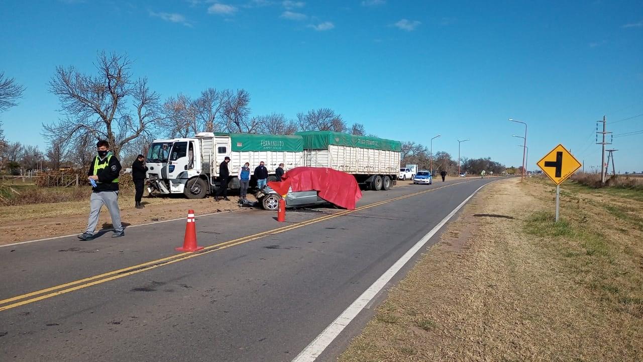 Accidente Fatal Ruta 14 María Teresa